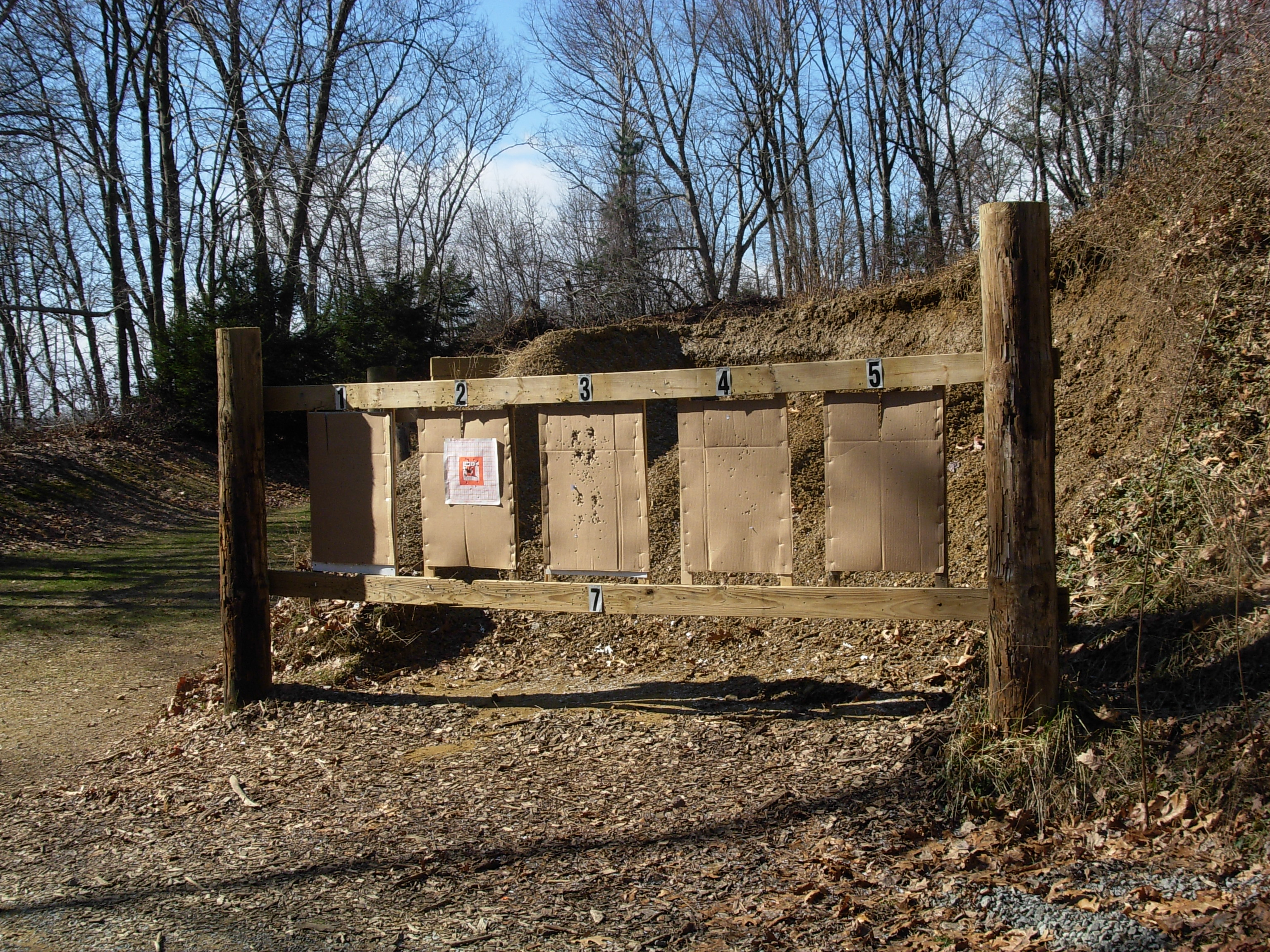 how to build an indoor shooting range backstop