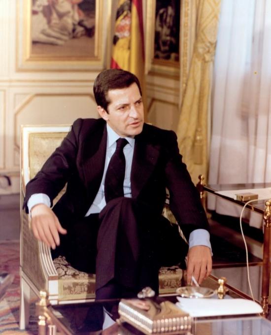 Adolfo Suárez, clave en la transición