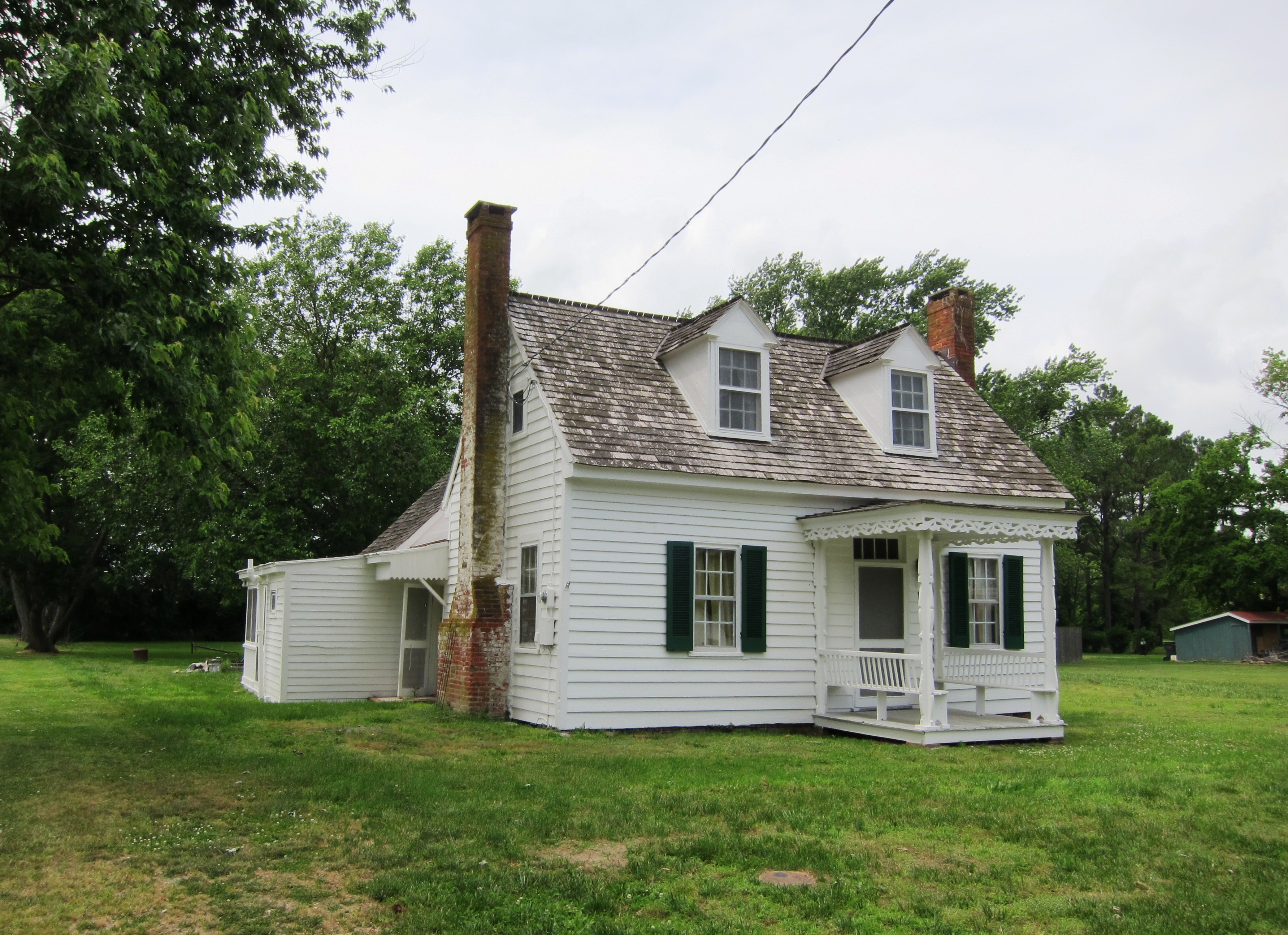 file small cottage early 19th century structure with later