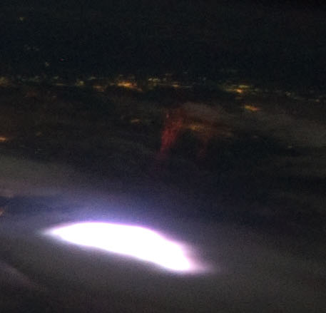 Sprite from ISS %28cropped%29 HAARP Plans For 2013   REVEALED!!
