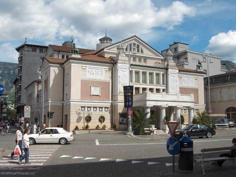 Teatro civico merano wikipedia for Azienda soggiorno merano
