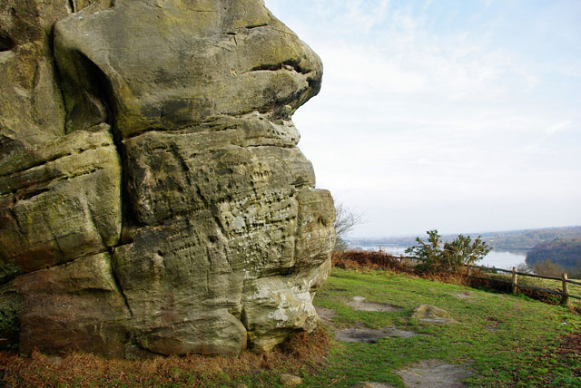 Stone Farm Rocks crag - geograph.org.uk - 1672314