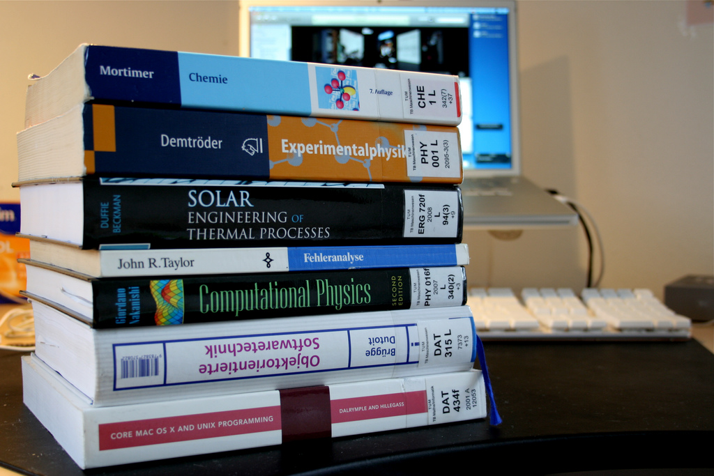 These are engineering textbooks.