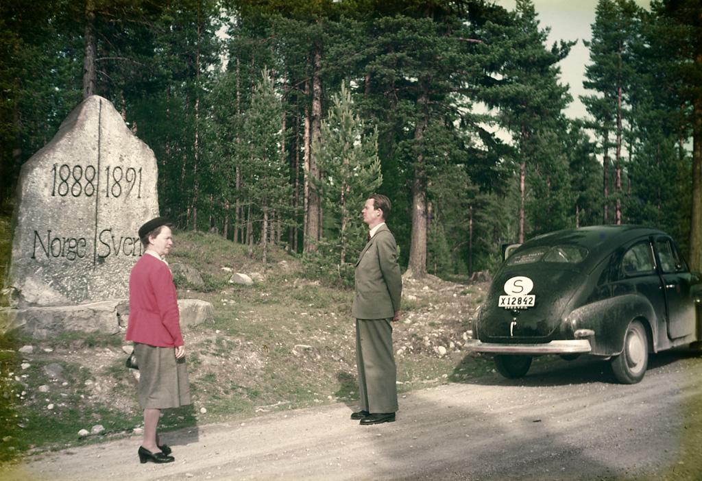 File Swedish Norwegian Border Alvdalen Dalarna Sweden