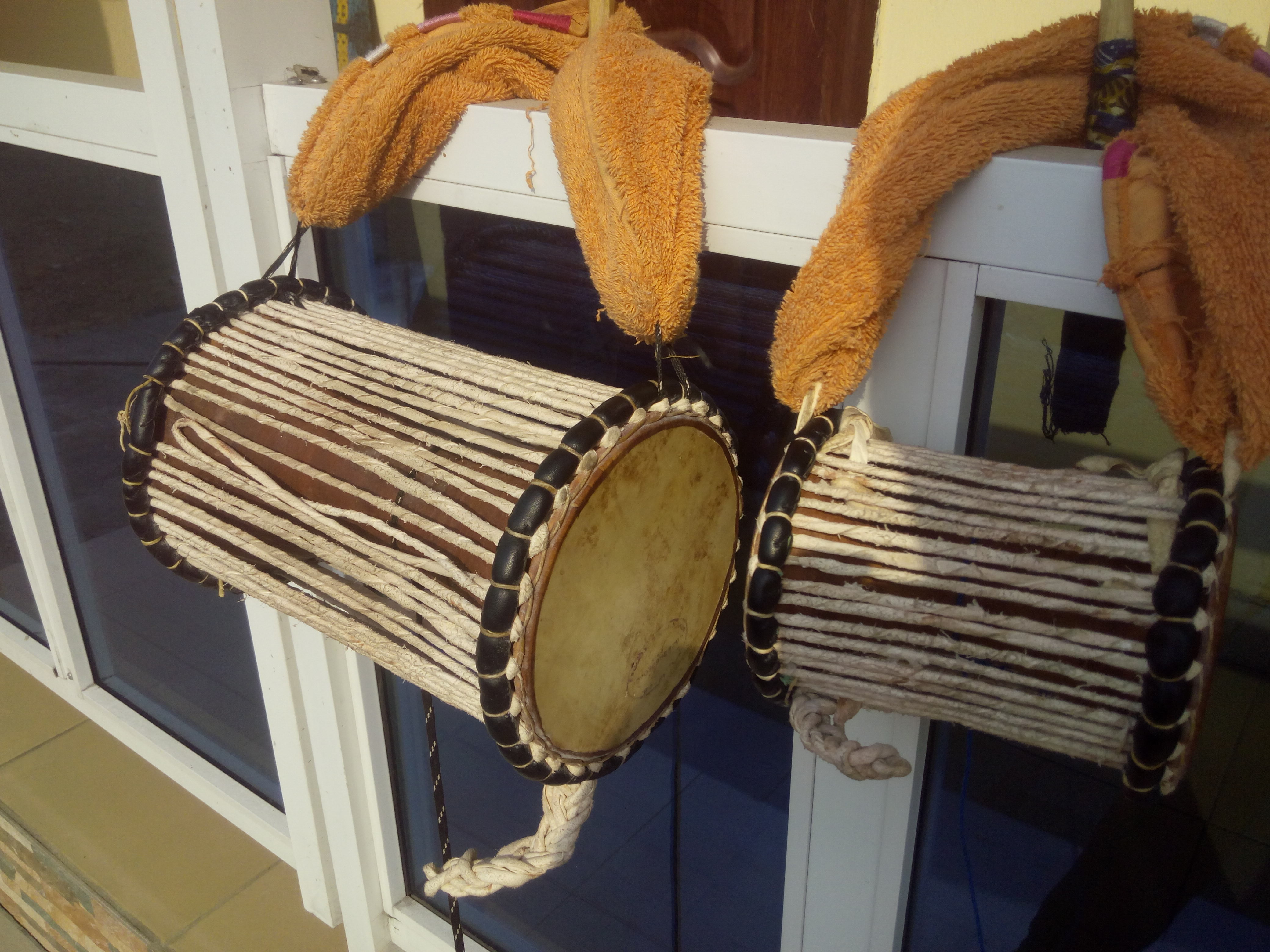African Talking Drums