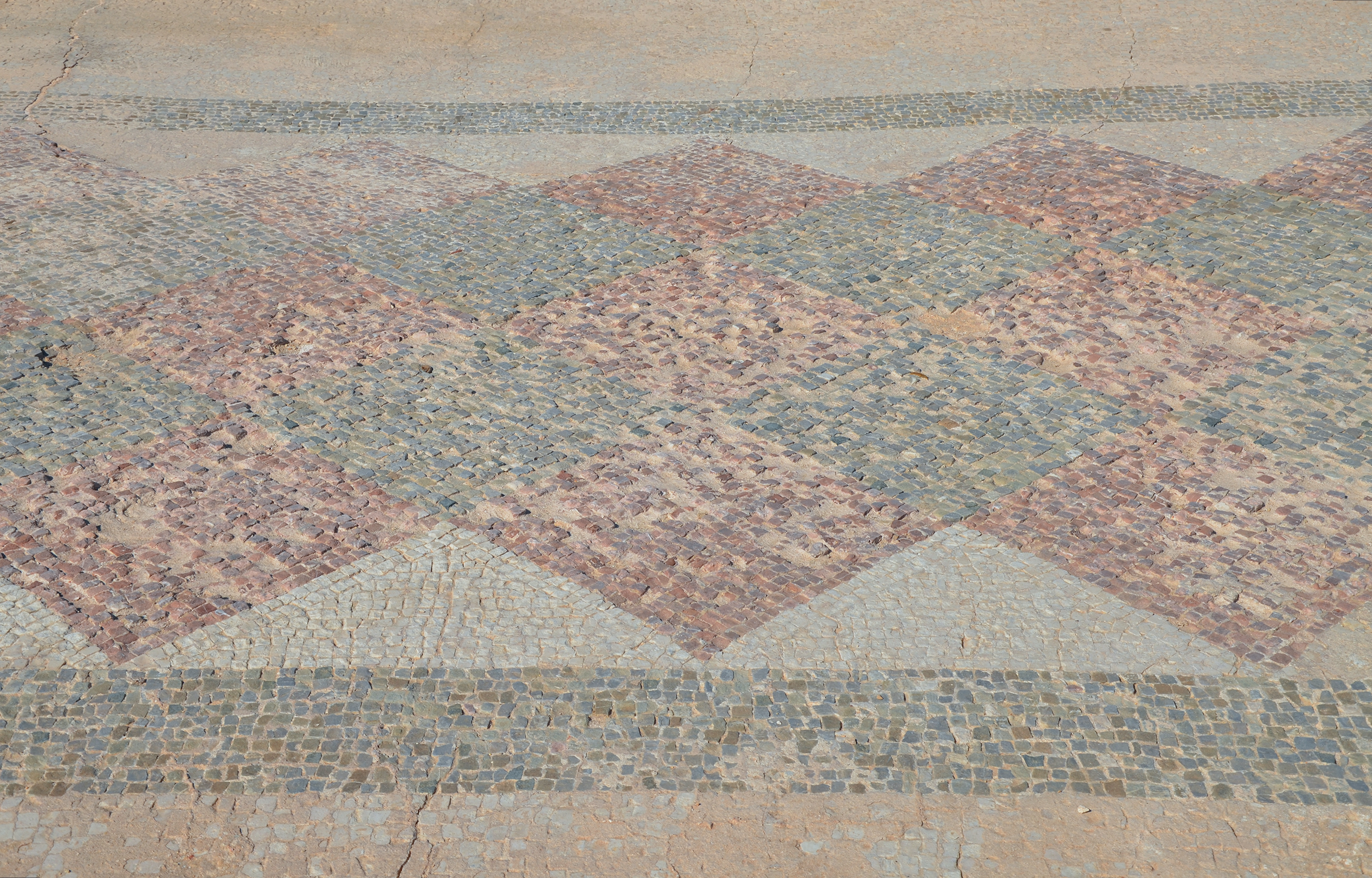 filethe house of theseus mosaic with geometric pattern west wing paphos - Mosaic Tile House 2015