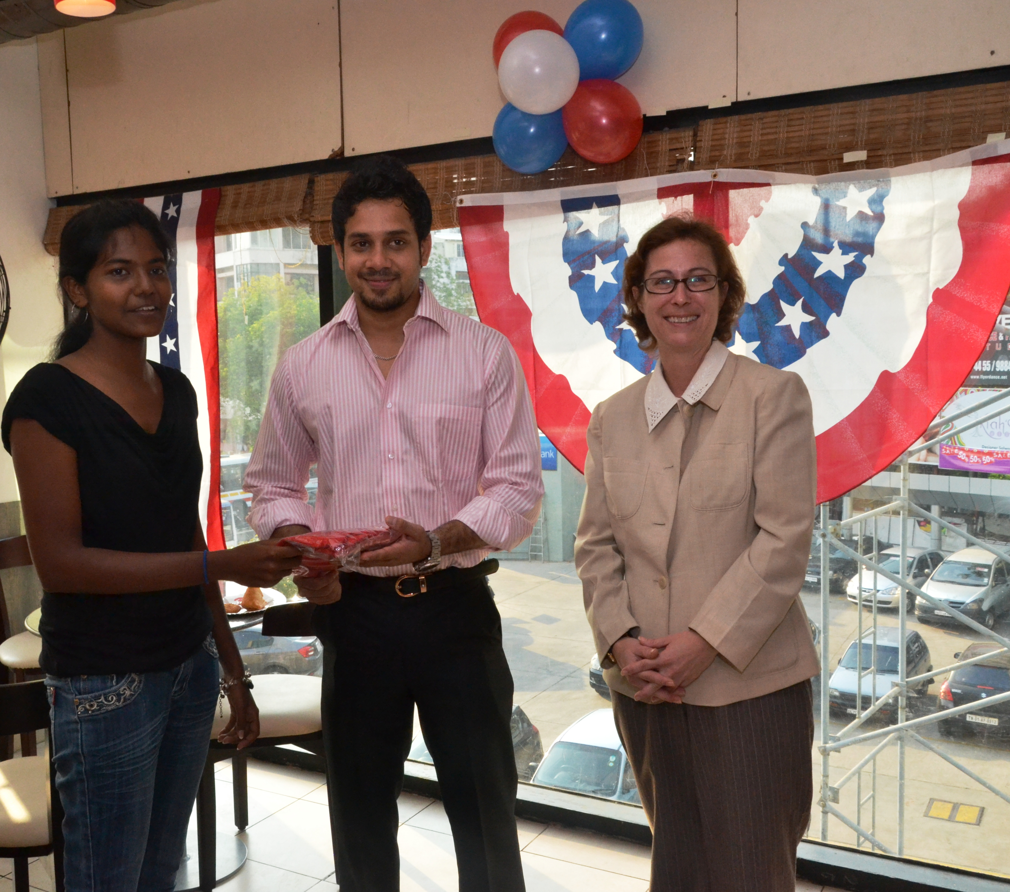 File:The U S Consulate Chennai celebrated its two-year anniversary