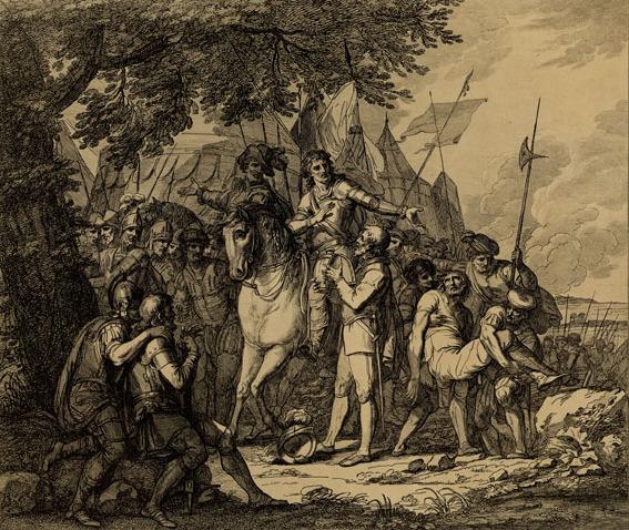 The death of sidney by BARTOLOZZI, FRANCESCO - GMII