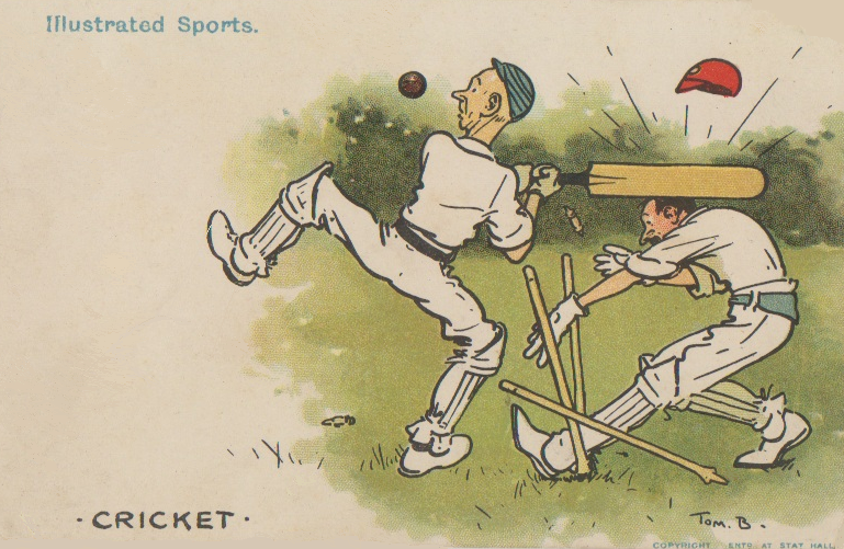 Tom Browne, Illustrated Sports Cricket