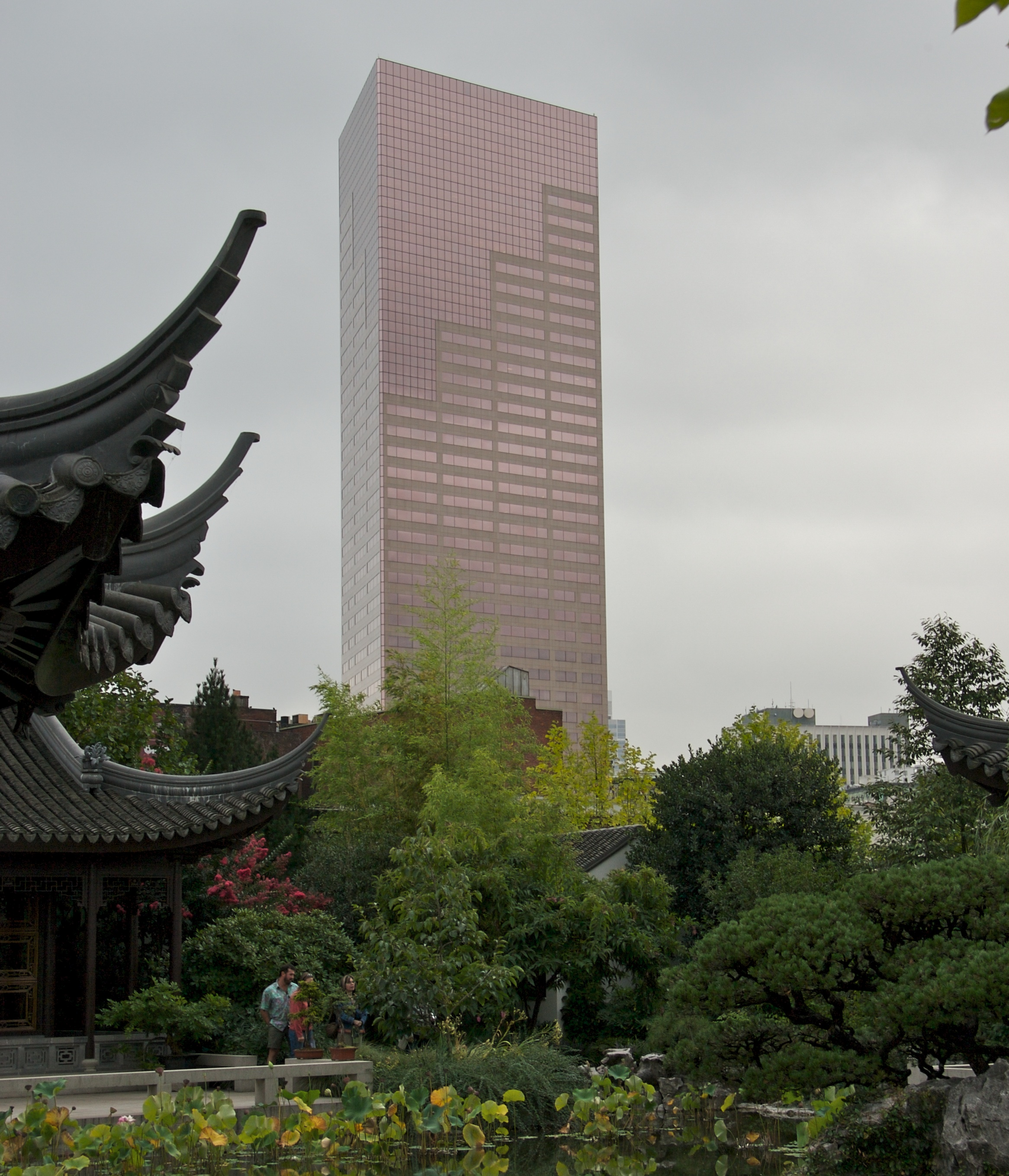 file u s bancorp tower from lan su chinese garden 2007