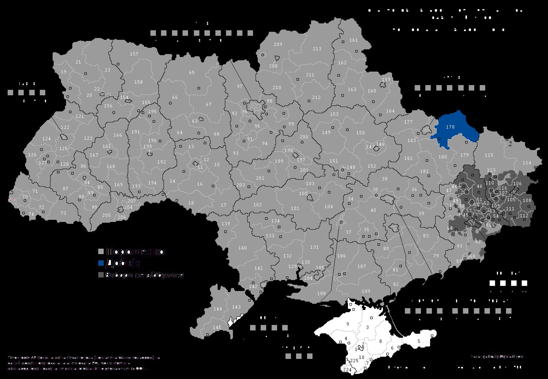 file ukrainian presidential election 2014 map png