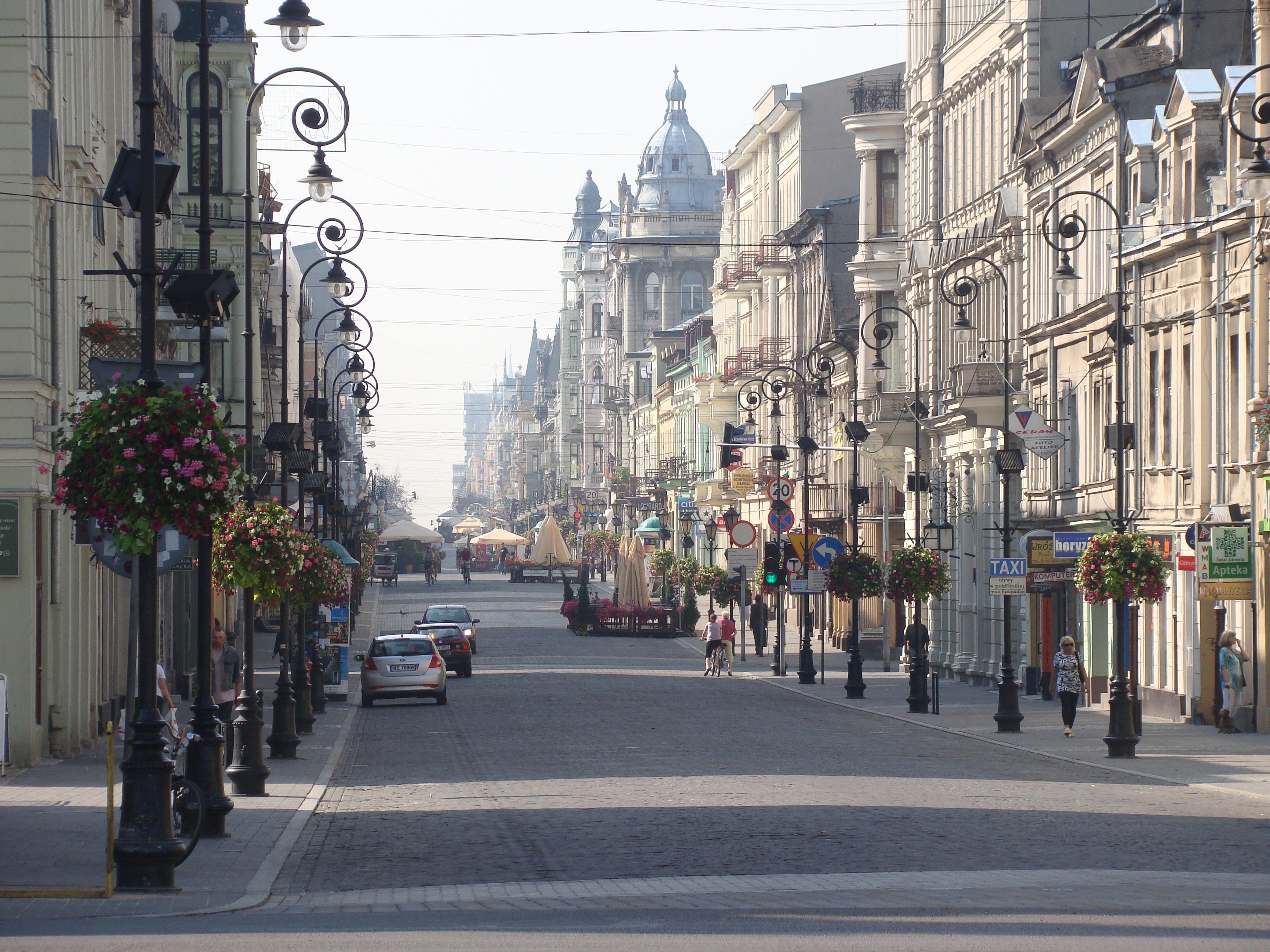 Ulica Piotrkowska W łodzi Wikipedia Wolna Encyklopedia