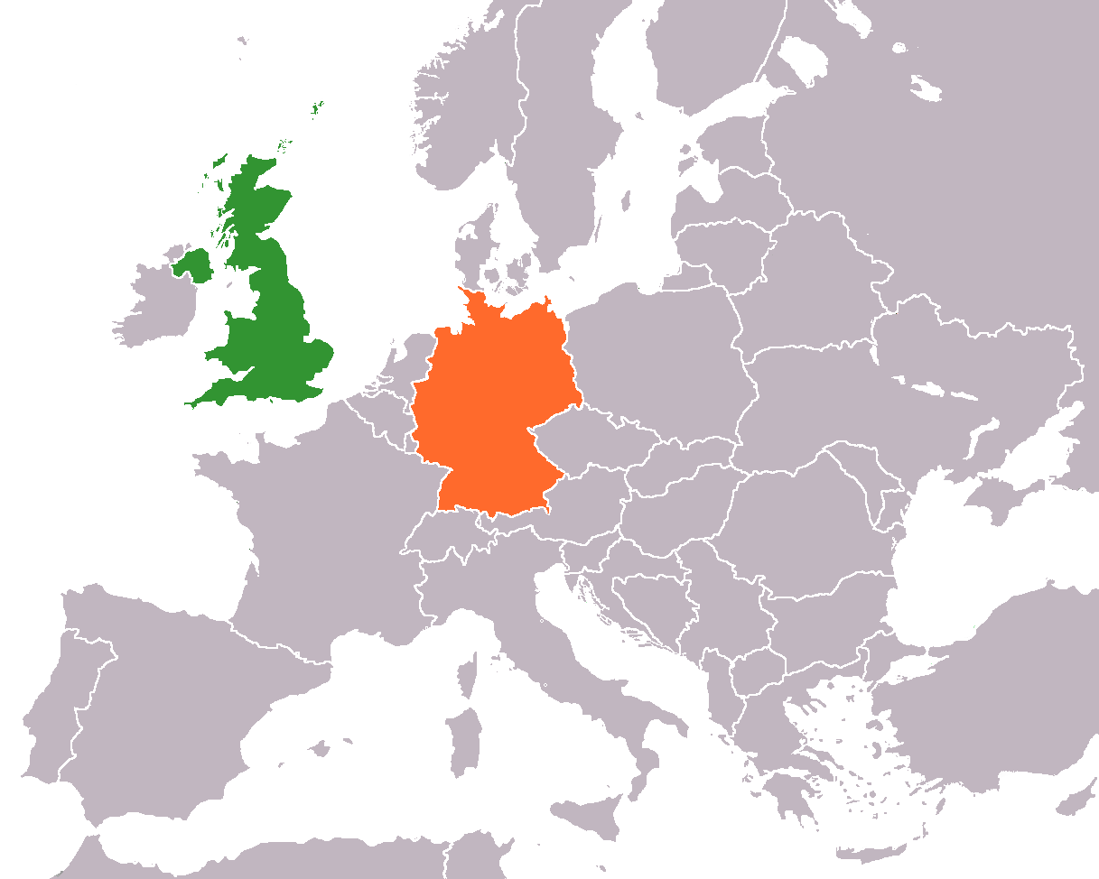 File United Kingdom Germany Locator Png Wikimedia Commons