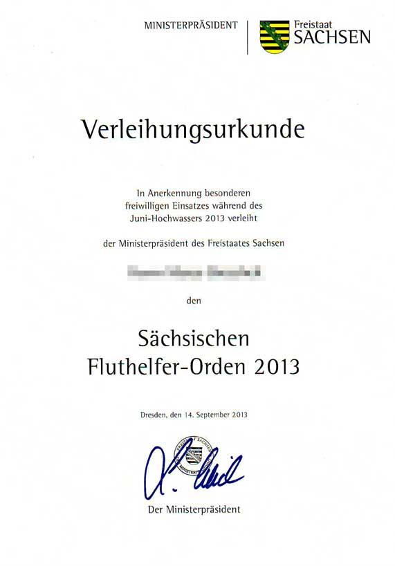 File:Verleihungsurkunde Fluthelferorden 2013.jpg - Wikimedia Commons