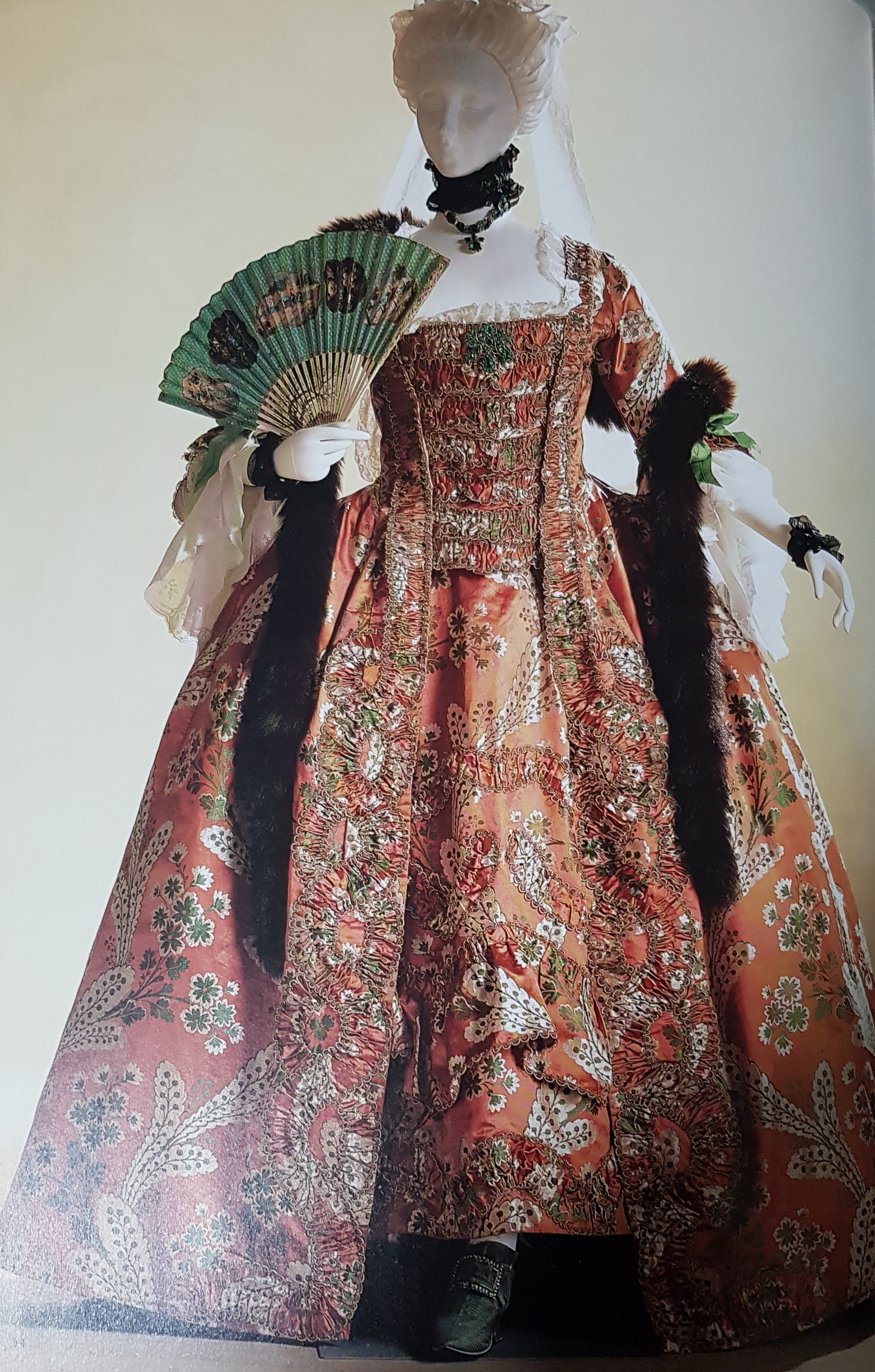 Filevestido A La Francesa Siglo Xviiijpg Wikimedia Commons
