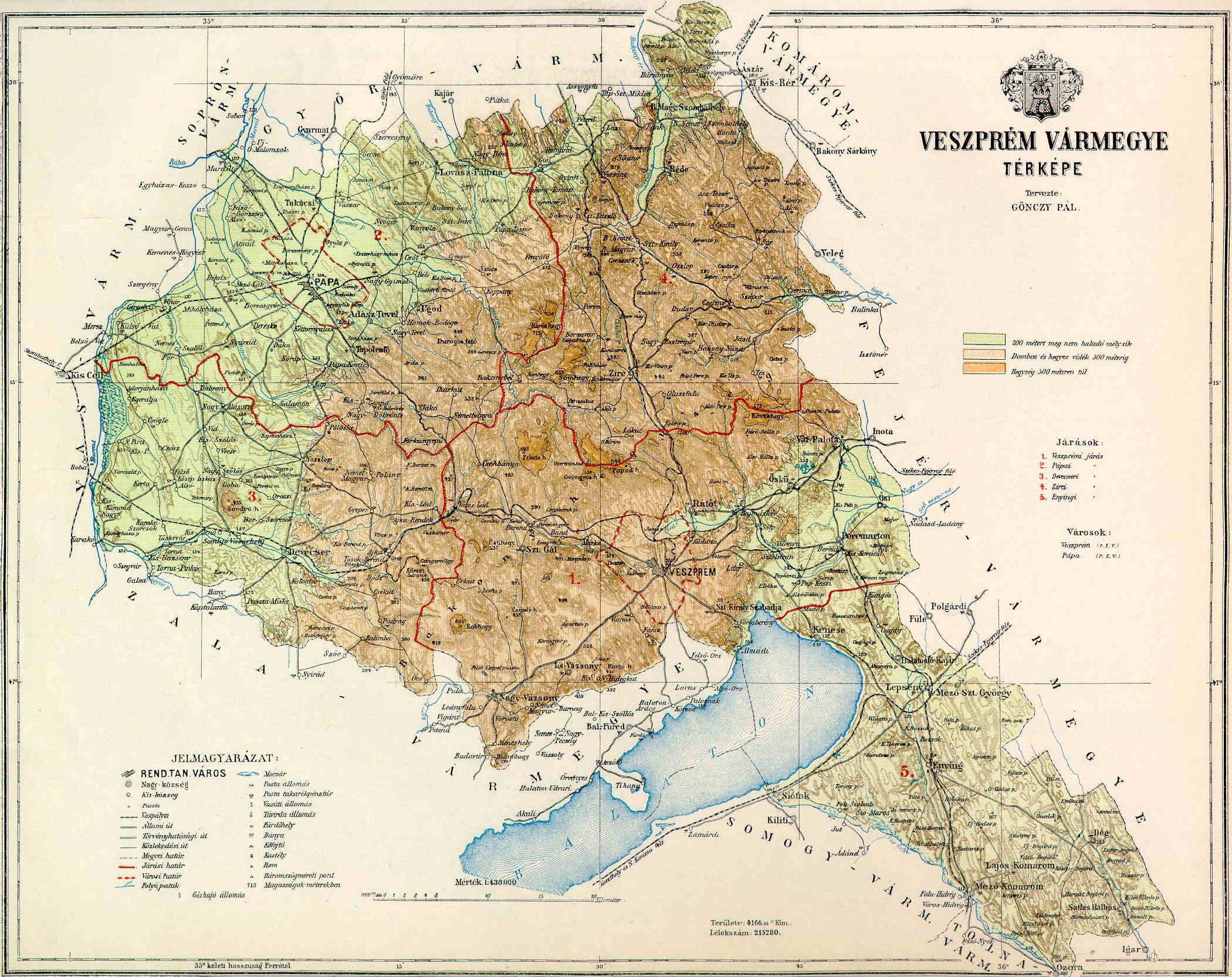 veszprém megye domborzati térkép Fájl:Veszprem county map. – Wikipédia veszprém megye domborzati térkép