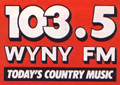 The WYNY logo used from 1988–1996