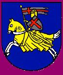 Das Wappen von Hemau