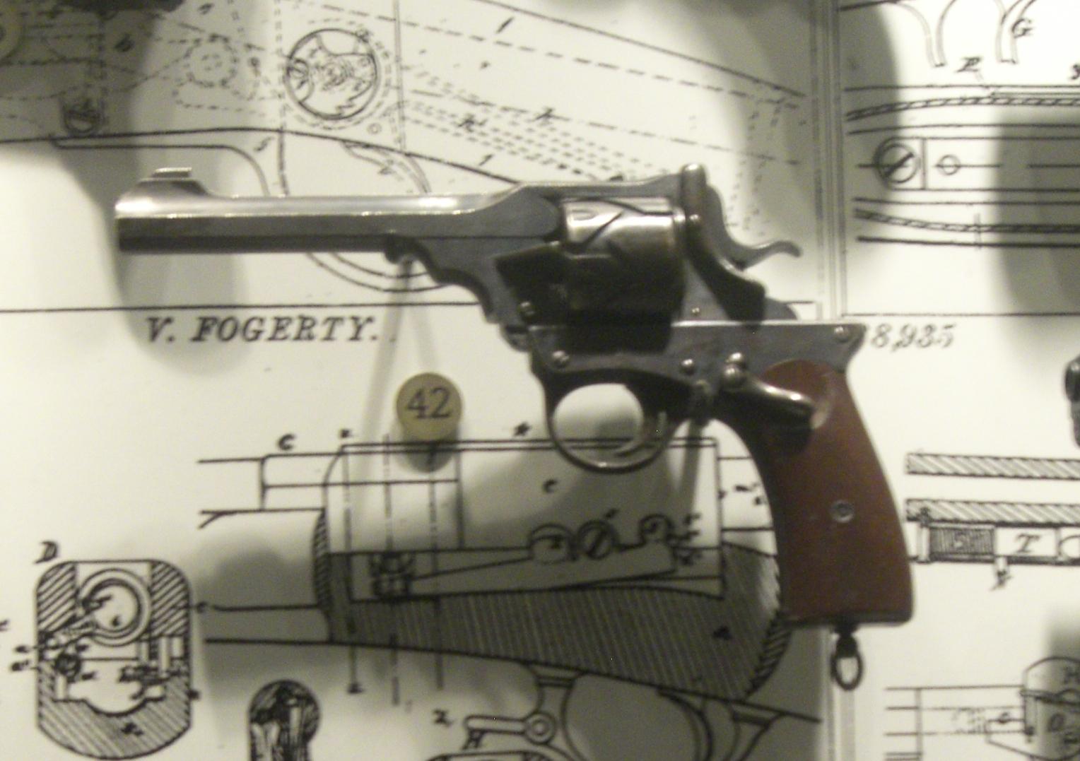 Webley–Fosbery Automatic Revolver - Wikipedia