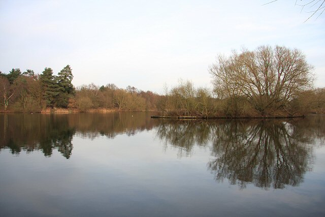 West Stow Lake - geograph.org.uk - 639767