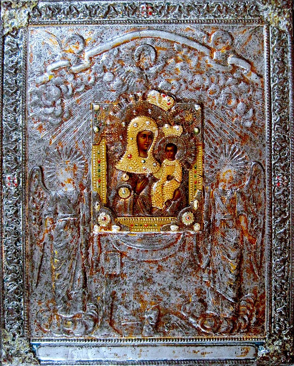 Копия Святогорской иконы XIX века.