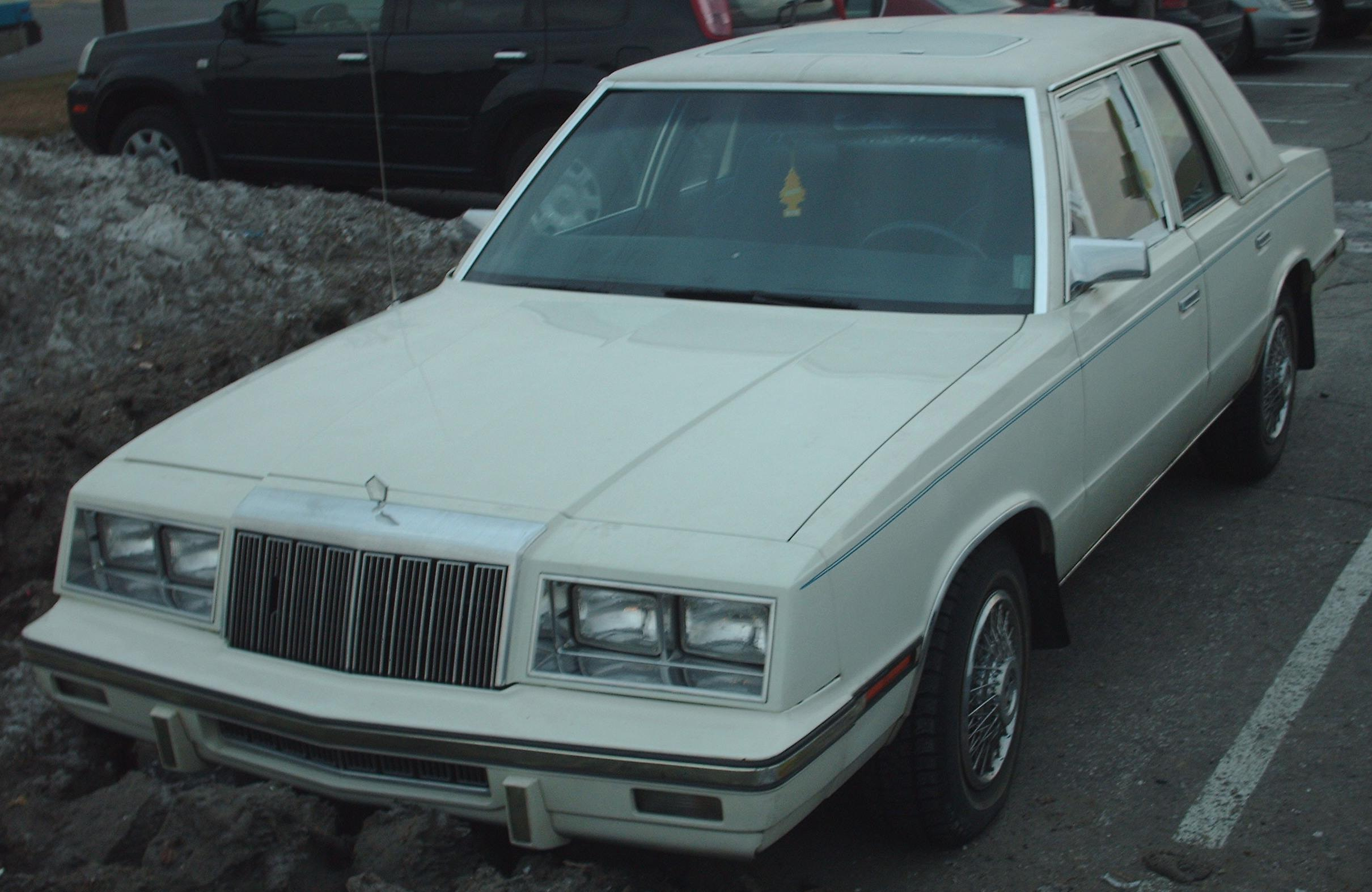 1982 chrysler le baron sedan related infomation. Black Bedroom Furniture Sets. Home Design Ideas