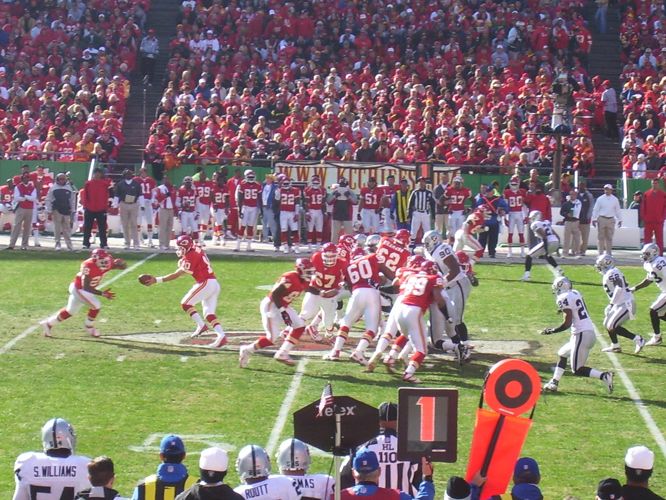 2006 Kansas City Chiefs Season Wikipedia