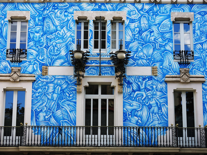 File 062 Antic Ajuntament De Gracia Barcelona Mural Dels 200 Anys