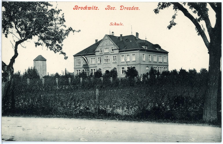File:18192-Brockwitz-1914-Schule-Brück & Sohn Kunstverlag.jpg