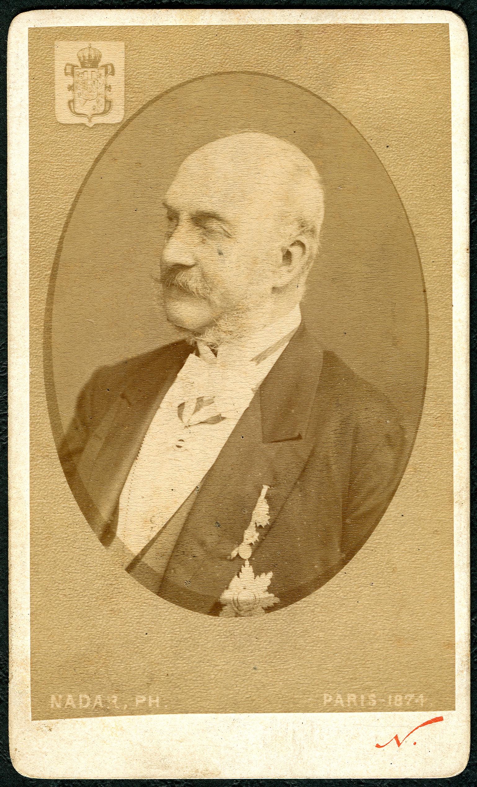 Datei1874 Carte De Visite Georg V Konig Von Hannover Roi Hanover