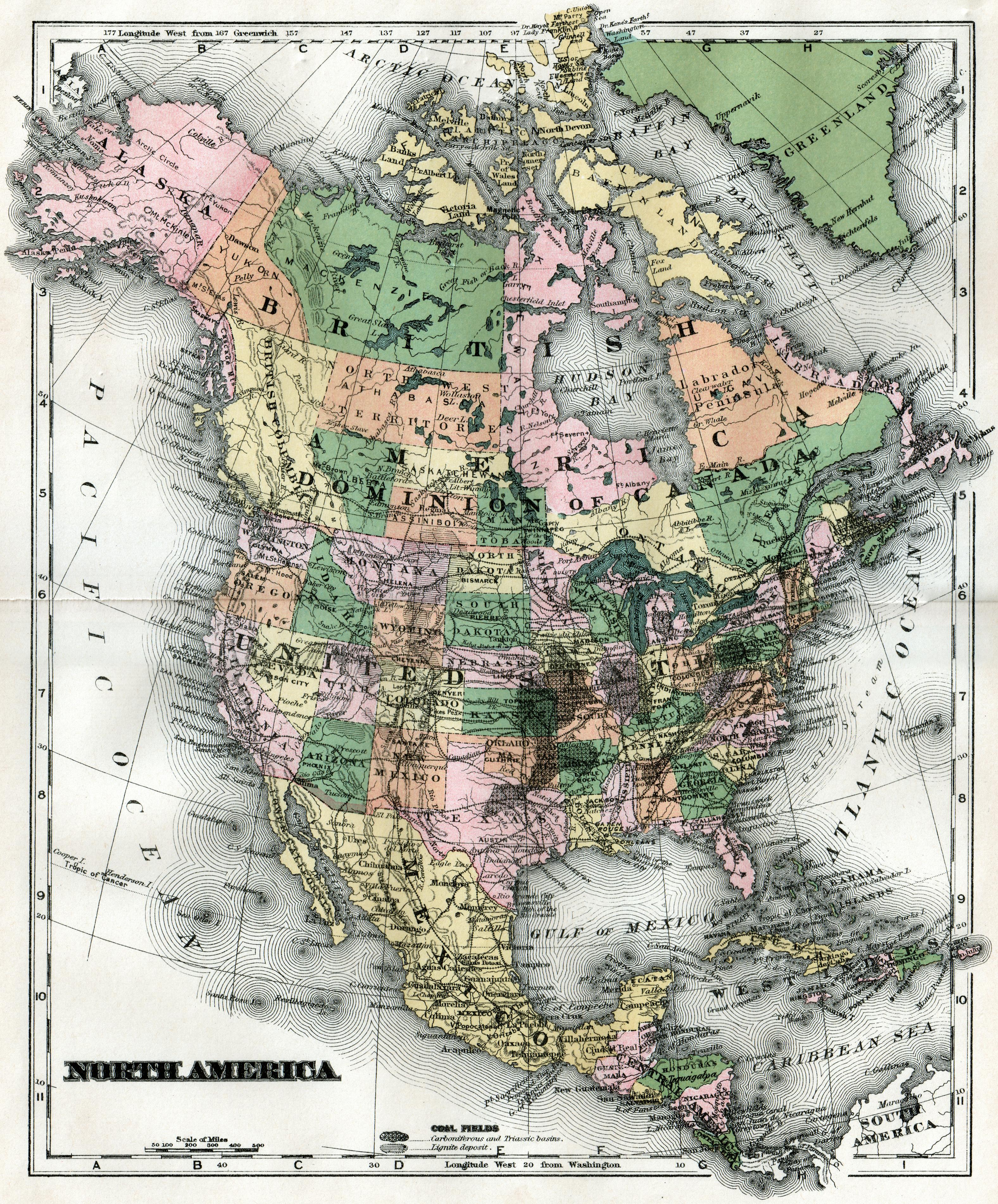 Latitude And Longitude Map Digital Vector World Map Robinson - Map with latitude and longitude of north america