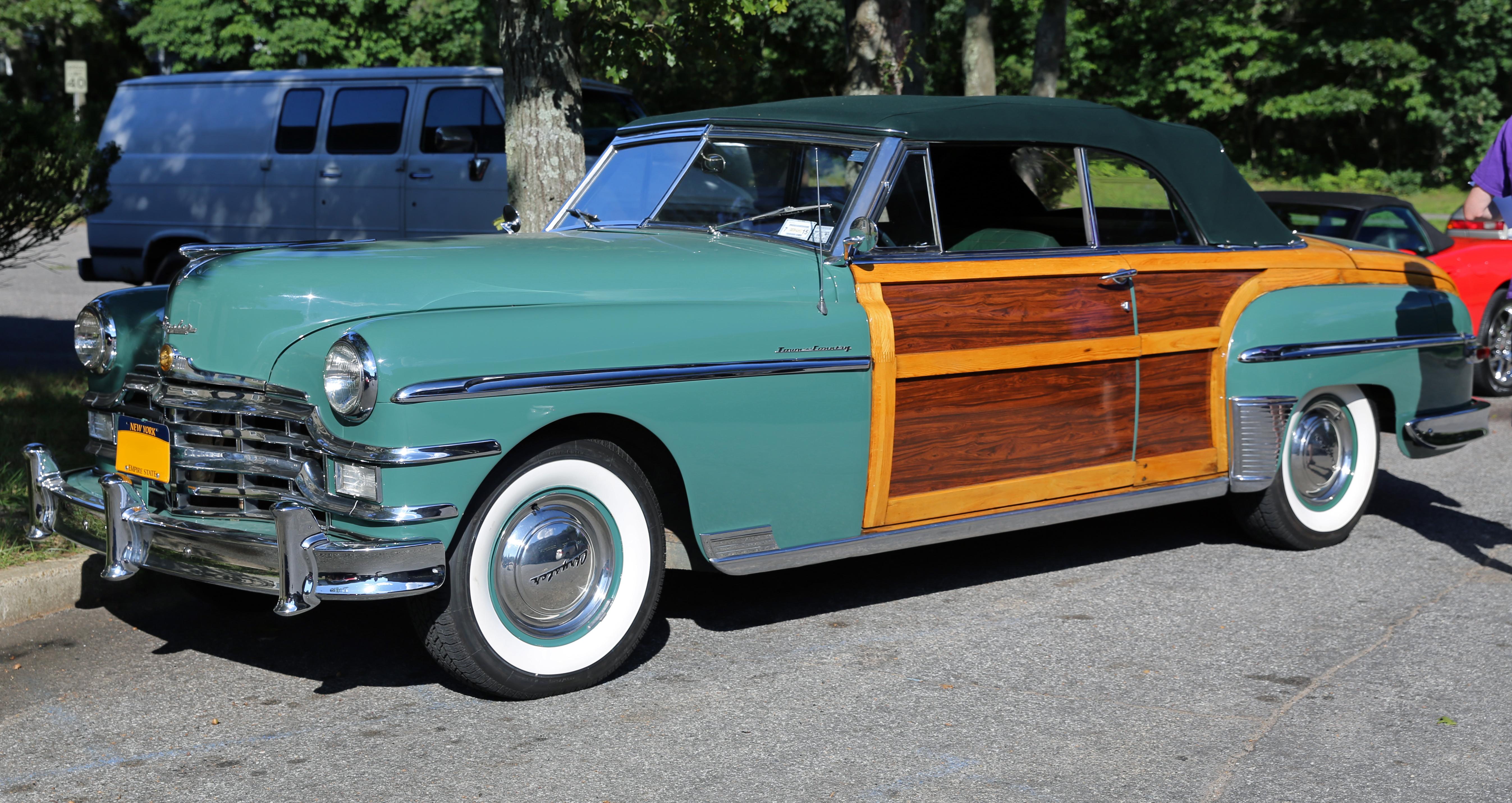 Chrysler New Yorker X Fifth Avenue 33 V6 150 Hp 1954 Deluxe Newport Resimleri