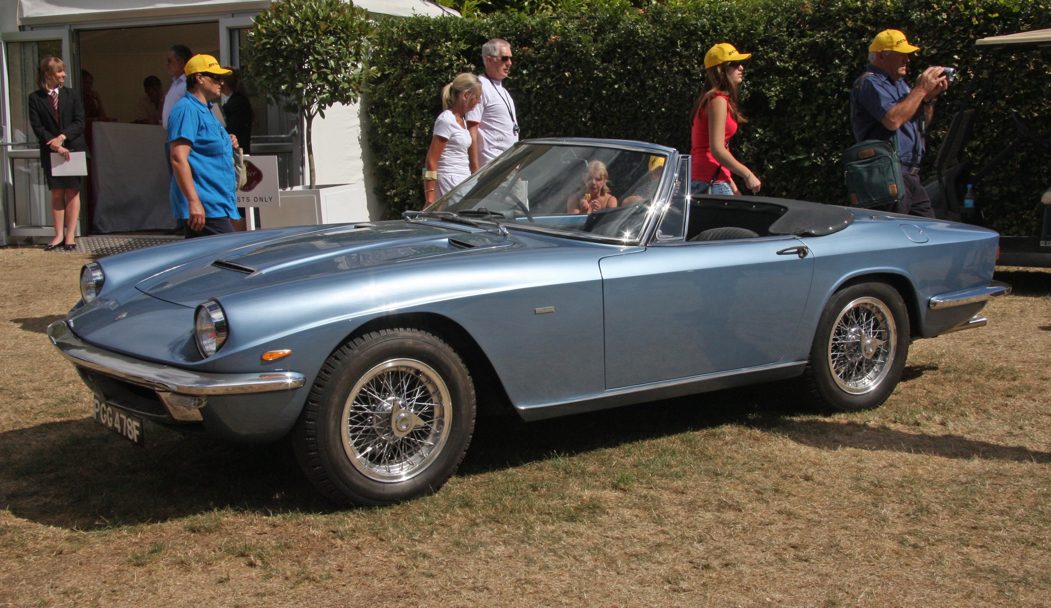Datei:1967 Maserati Mistral Spyder.jpg – Wikipedia