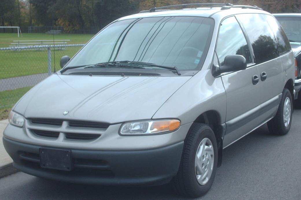 File:1996-2000 Dodge Caravan 4-Door.JPG - Wikimedia Commons