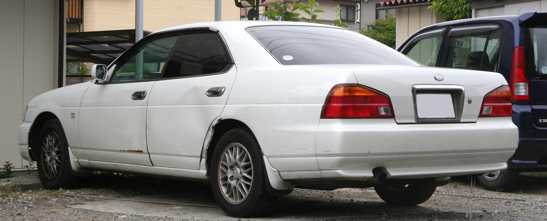 File:1997-1999 NISSAN Laurel rear.jpg - Wikimedia Commons: https://commons.wikimedia.org/wiki/File:1997-1999_NISSAN_Laurel_rear.jpg