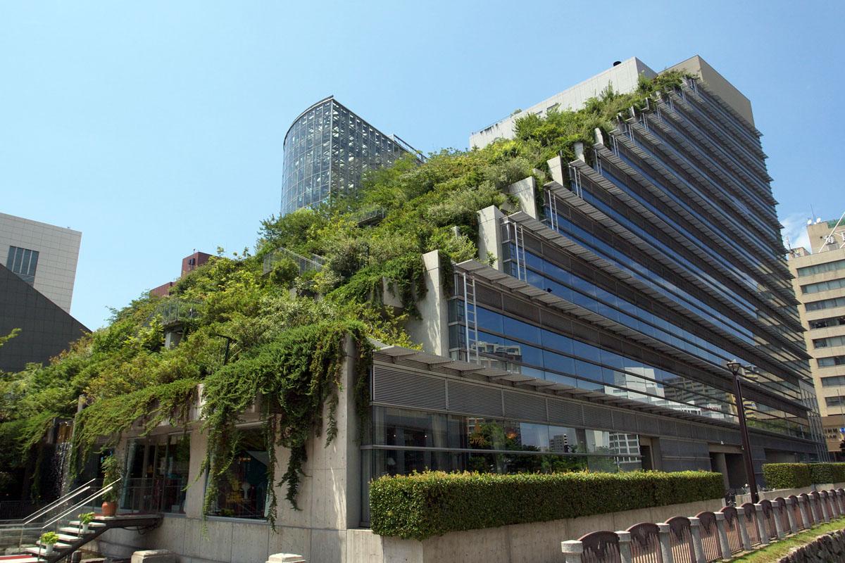Acros fukuoka wikip dia - Immeuble ecologique ...