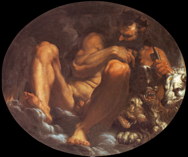 Pluto (1592) by Agostino Carracci