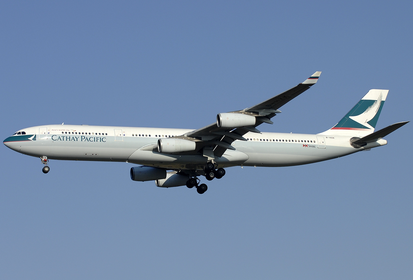 file airbus a340 313x cathay pacific airways wikipedia. Black Bedroom Furniture Sets. Home Design Ideas