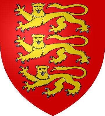 Principales casas de Francia Armoiries_Angleterre_1198