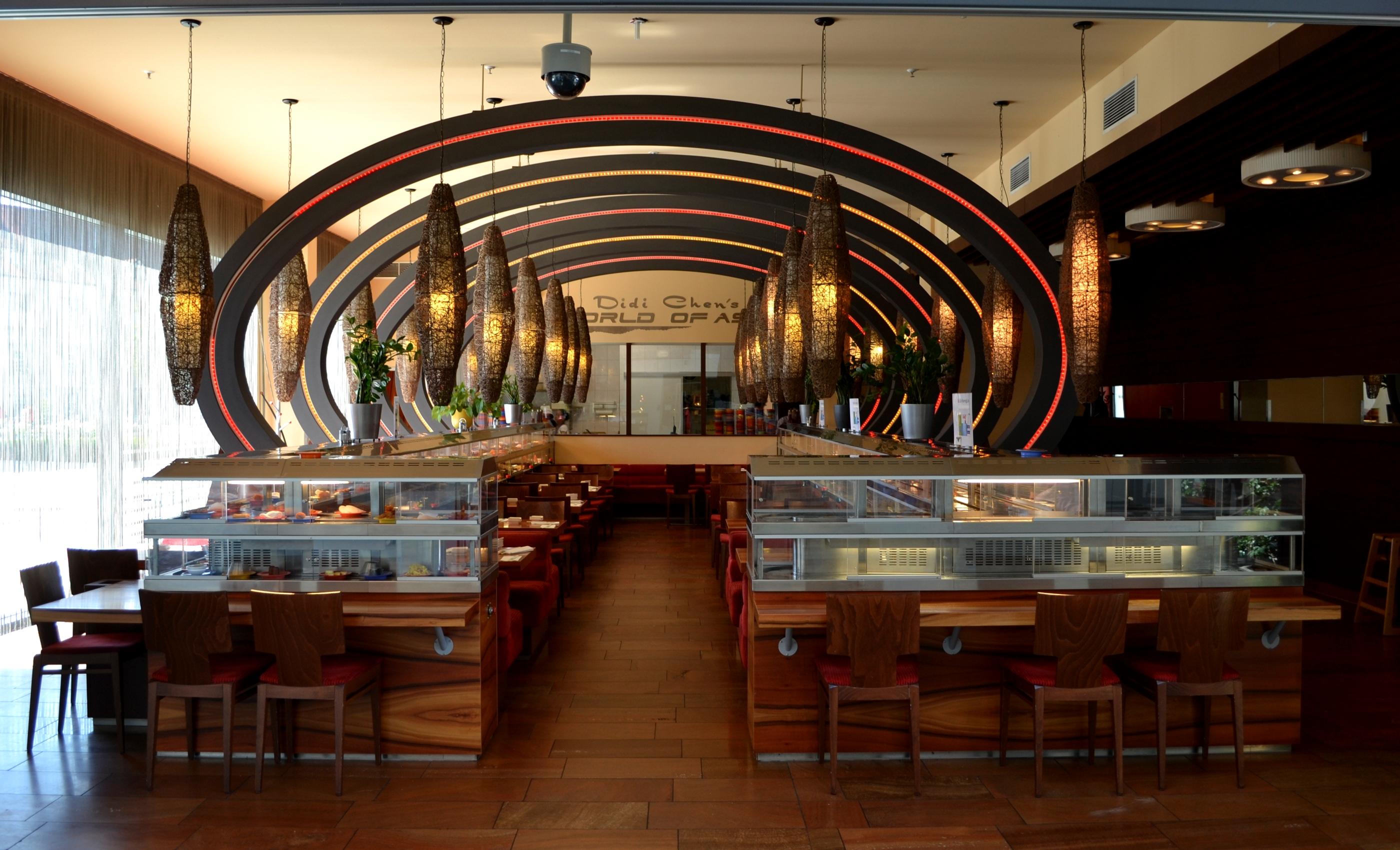 File asian restaurant inside the stadtturm passau g