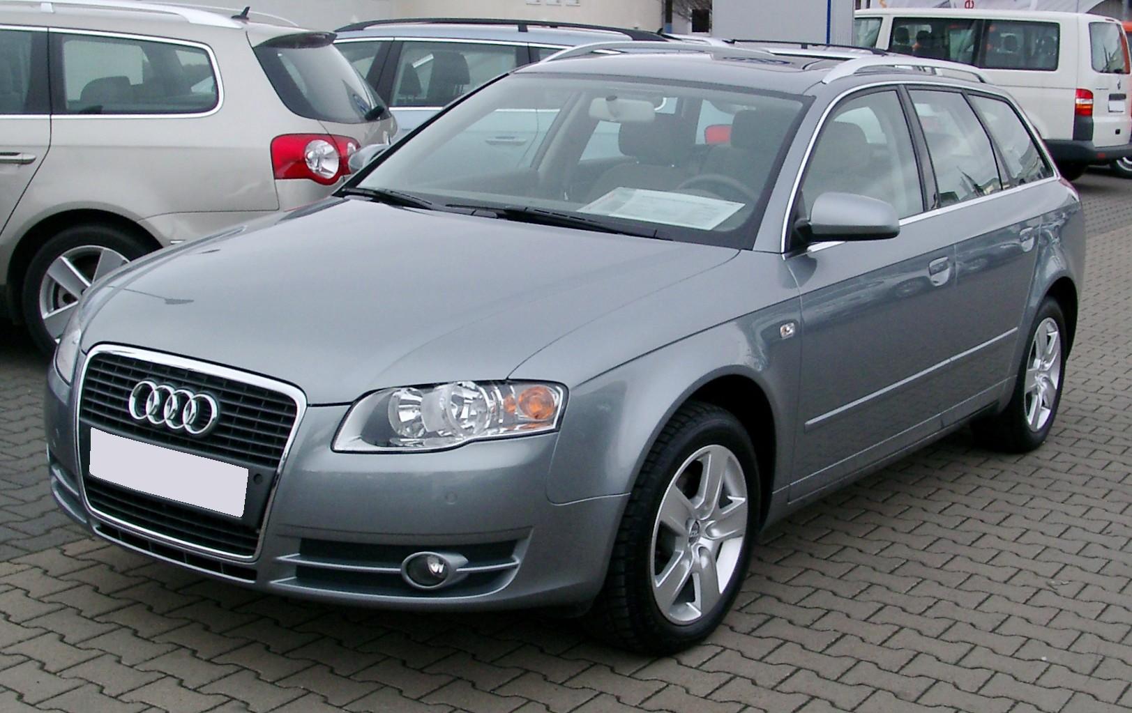 File:Audi A4 B7 Avant front 20080121.jpg - Wikimedia Commons