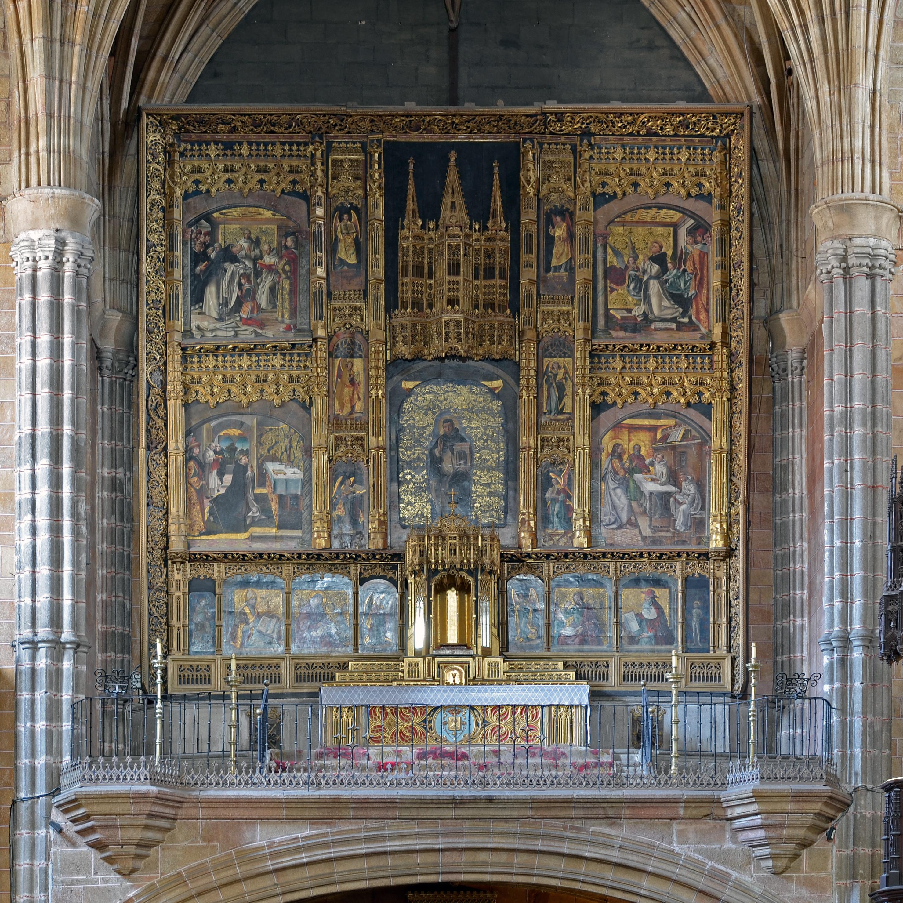File:Avila - Convento de Santo Tomas 03b.jpg