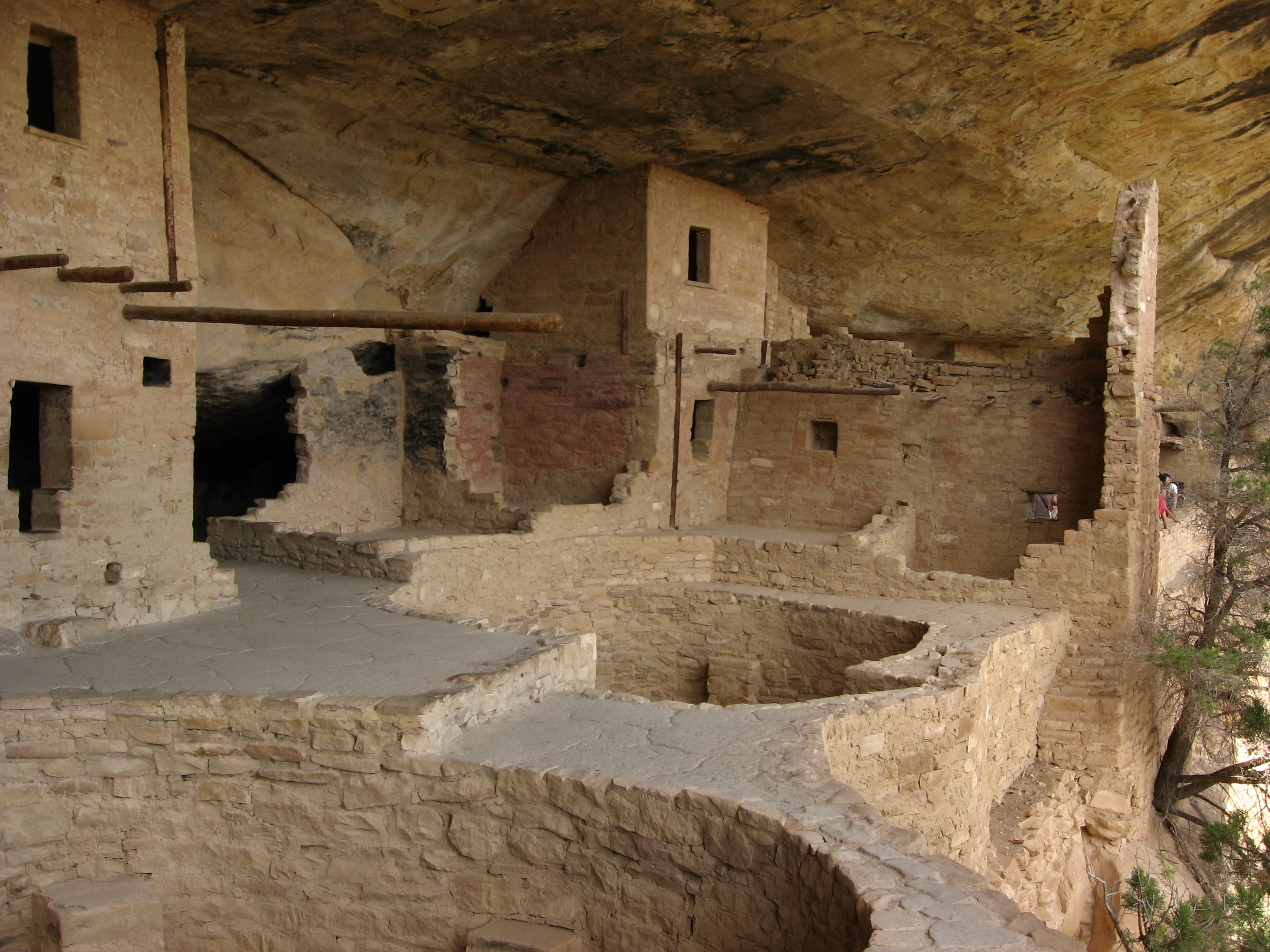 File balcony house tour at mesa verde national park for Balcony history