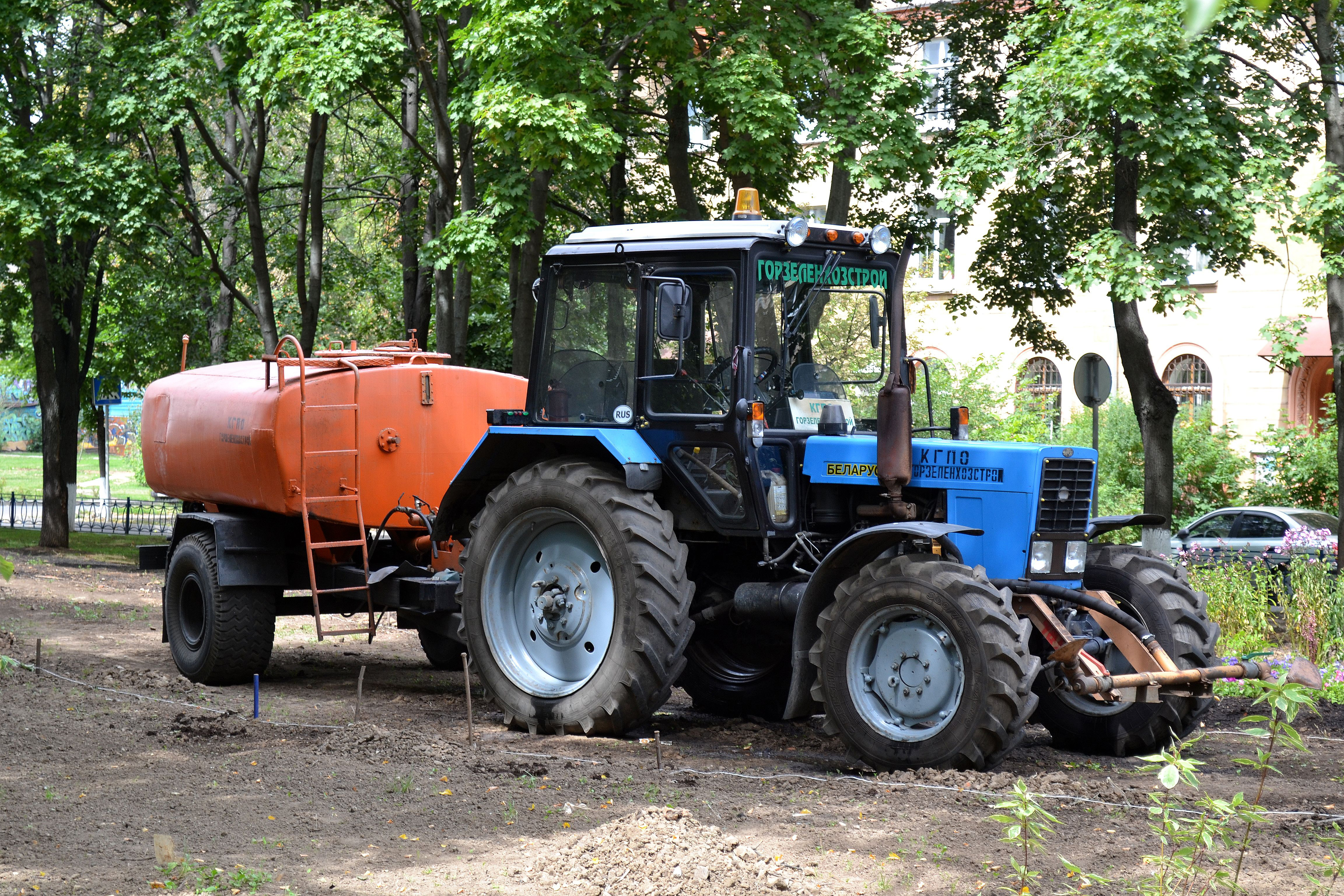 МТЗ-82 один из самых популярных тракторов белорусского завода