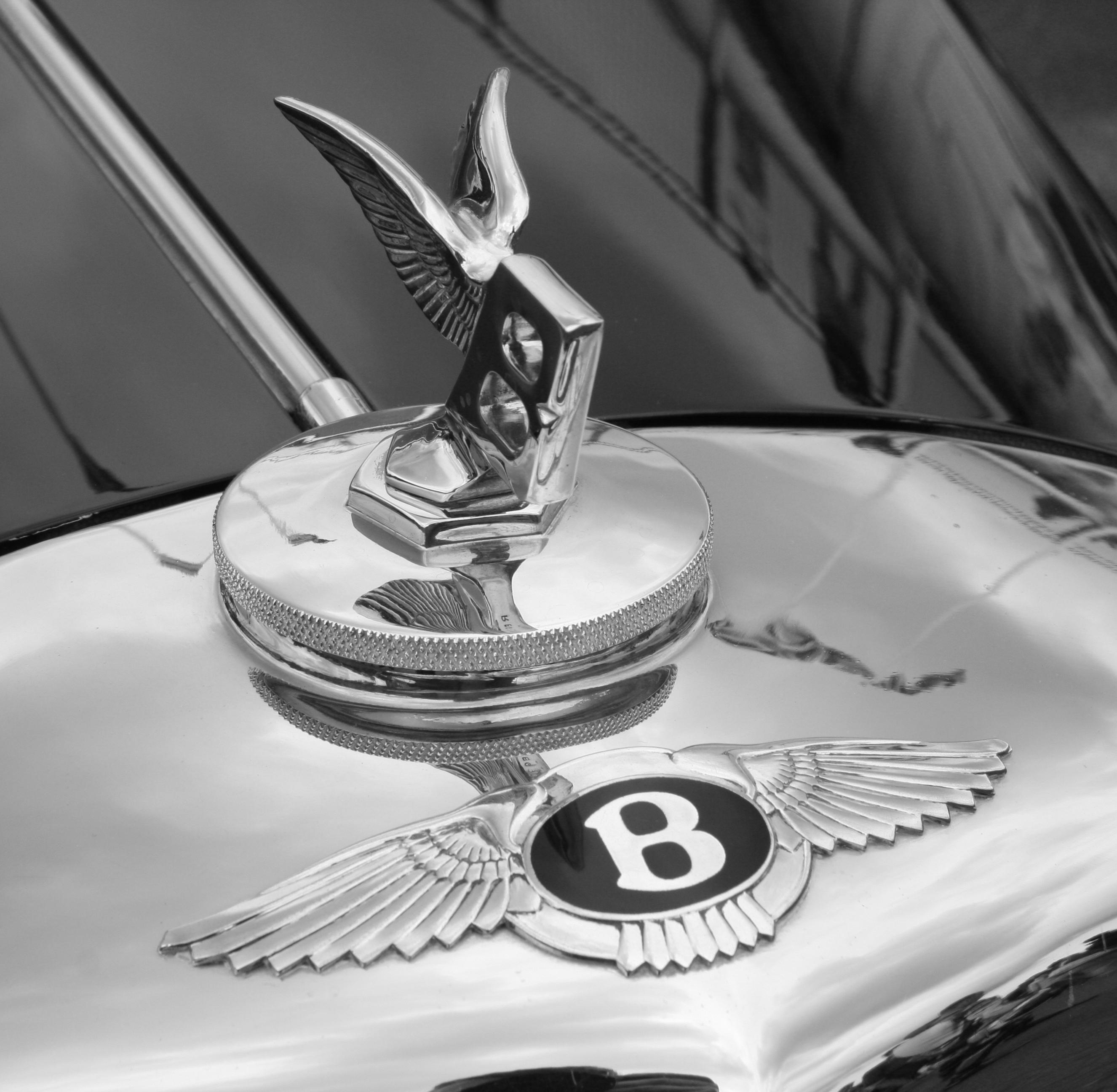 Car Badges Automobilia Precise Bentley Bonnet Badge Genuine Vintage