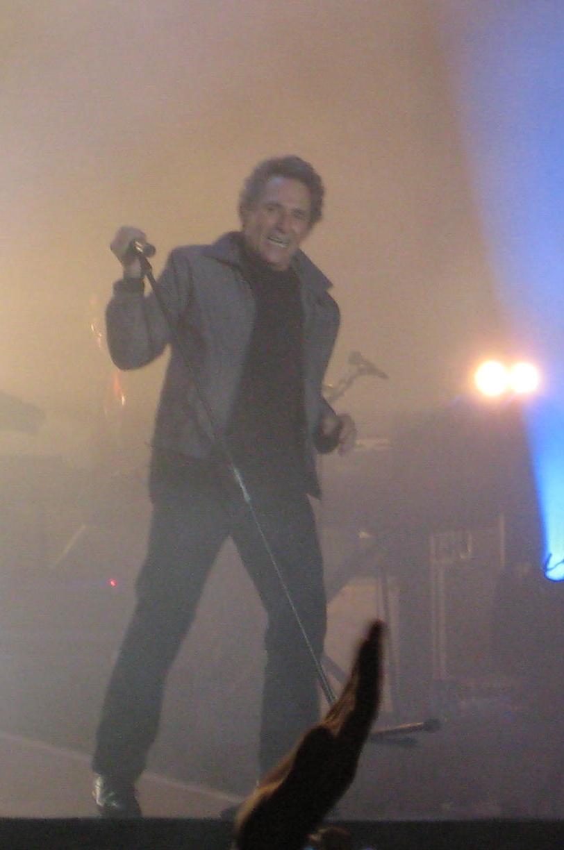 Concierto de su gira Memorias de la carretera, en 2009.