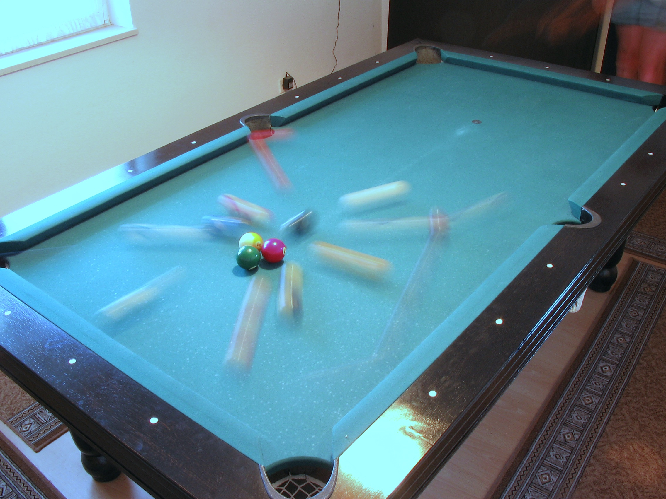 billard break