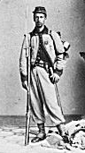 American Civil War infantryman
