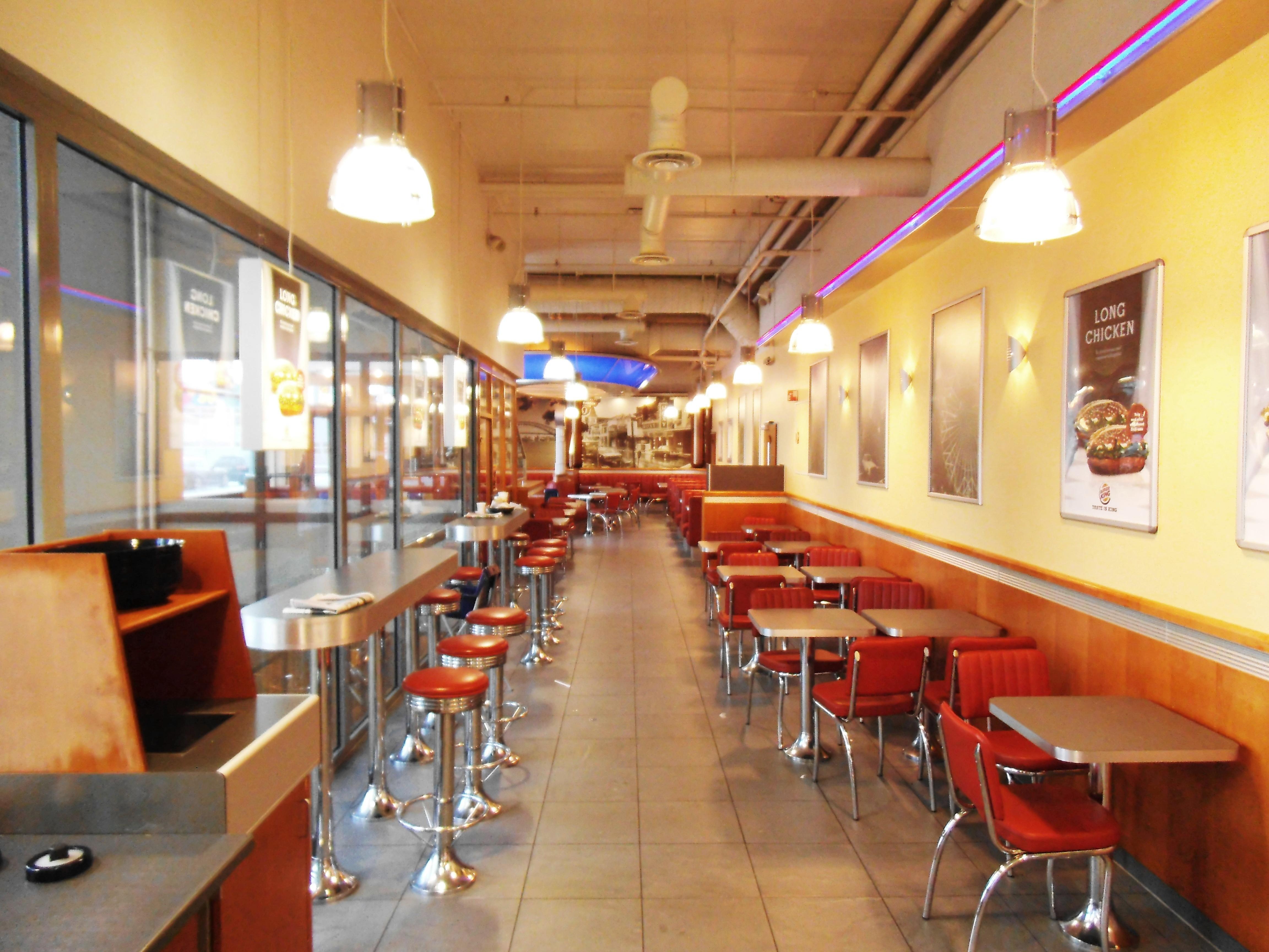 Burger king restaurant interior pixshark