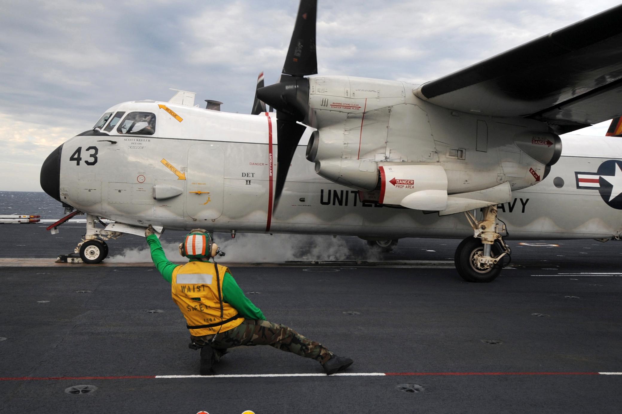 C 2a Greyhound Logistics Aircraft File:C-2A Greyhound 09...